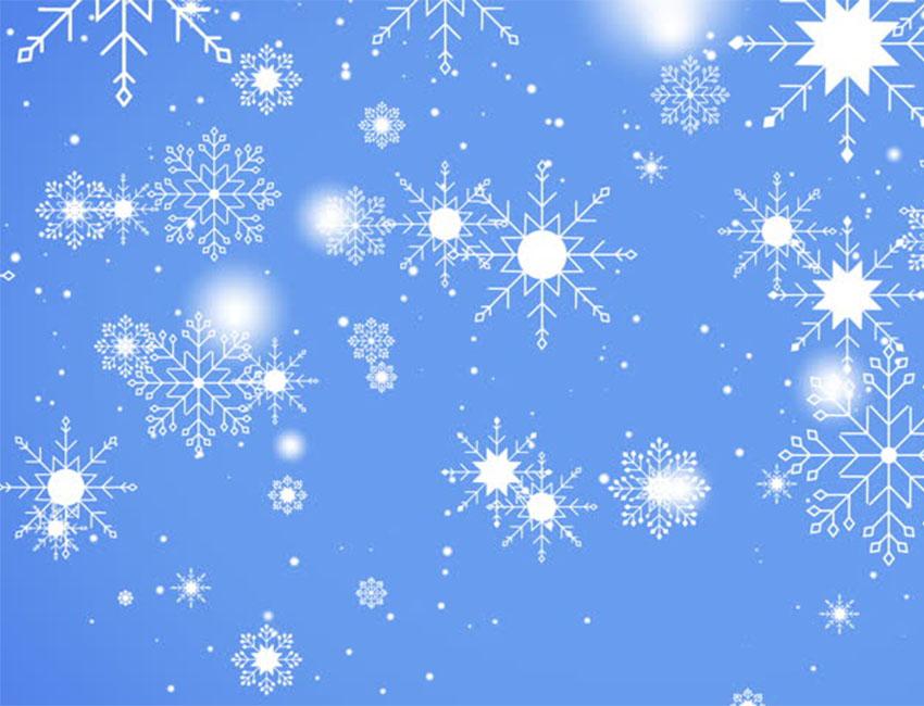 Девушек надписью, открытка падающие снежинки